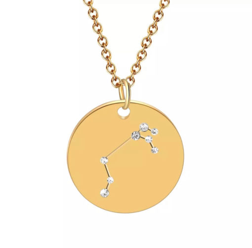 Collier constellation signe astrologique belier