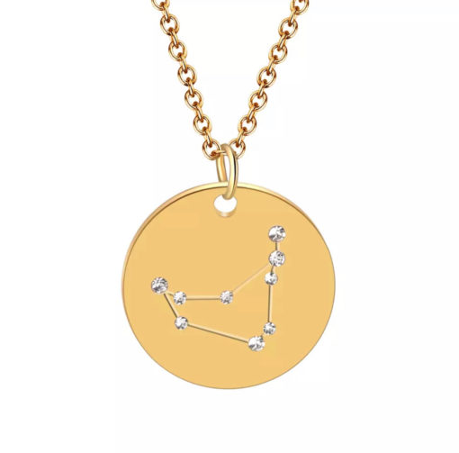 Collier constellation signe astrologique capricorne