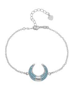 Bracelet cadeau femme- corne lune