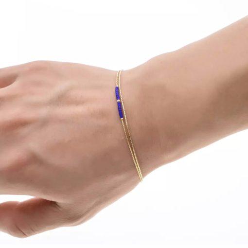 Bracelet chaine tres fine