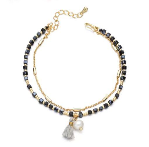 Bracelet double chaine