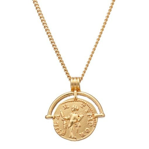 Collier Medaille Antique