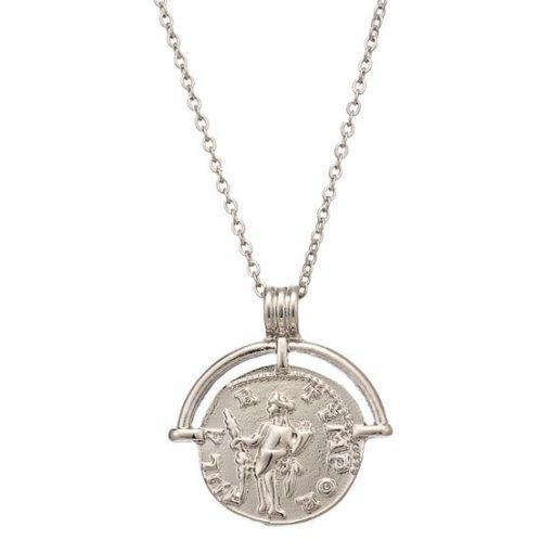 Collier Medaille Antique- Argent