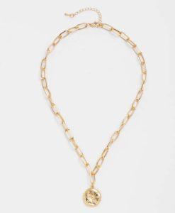 Collier cadeau femme- medaille etoile