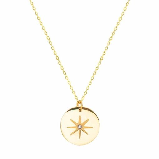 Collier cadeau femme- petite medaille