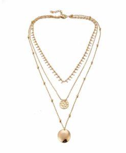 Idee cadeau femme- collier medailles