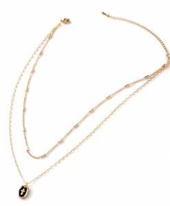 Idee cadeau femme- collier ras du cou medaille croix
