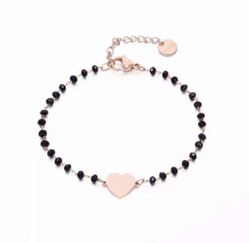 Bracelet femme coeur