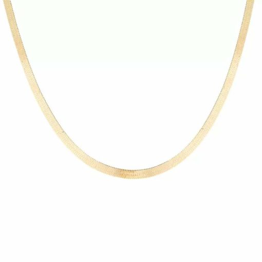 Collier simple - plaque or