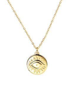 Collier tendance 2020 medaille