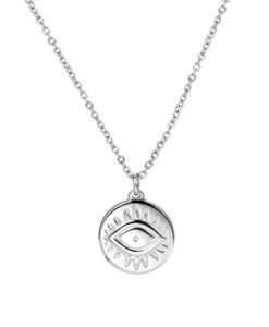 Collier tendance 2020 -medaille argent