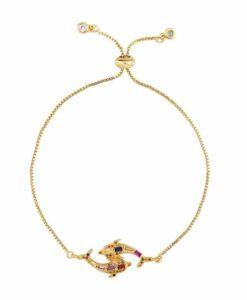 Bracelet original strass femme