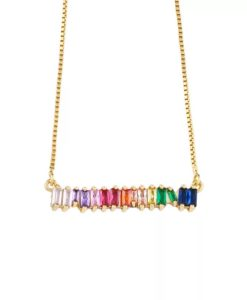 Collier tendance 2021 -strass