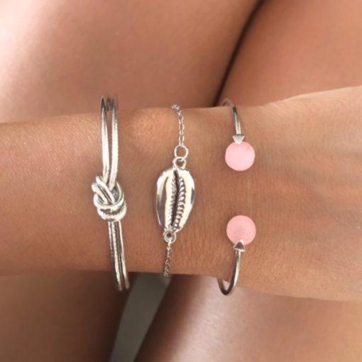 Bracelets tendance 2021- Lot de 3 bracelets originaux